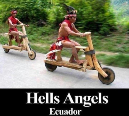 Hells angels Equador