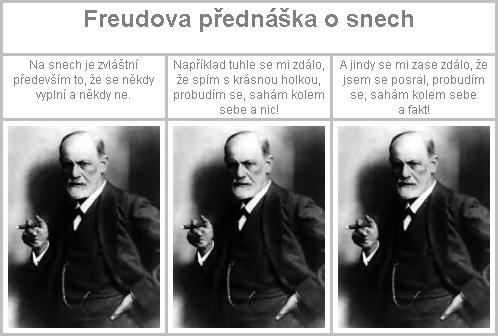 Freudova přednáška o snech