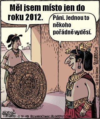 Konec světa 2012 vtipy