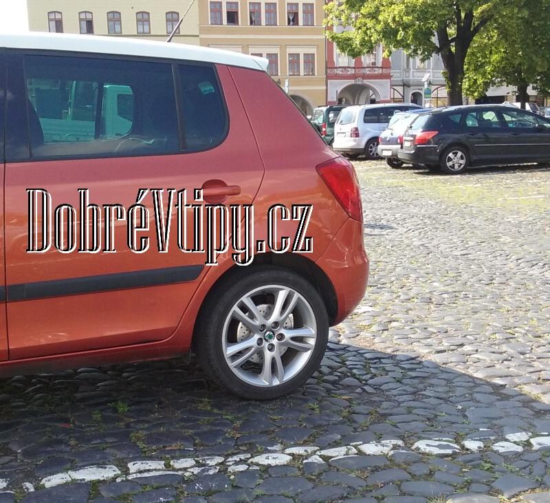 Škoda Fabia skoro kotoučové brzdy