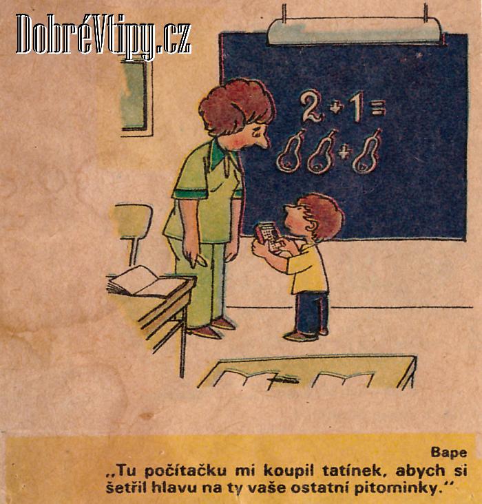 Pitominky Starsi Kresleny Vtip Dobre Vtipy